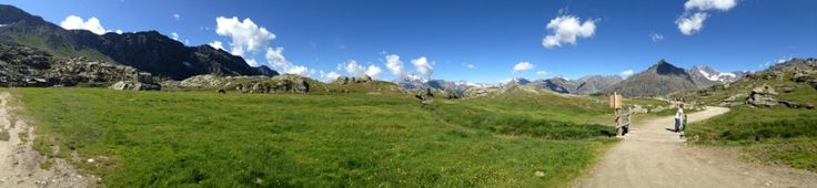 Panoramica dal Passo di Campagneda - foto di Carlo Binello