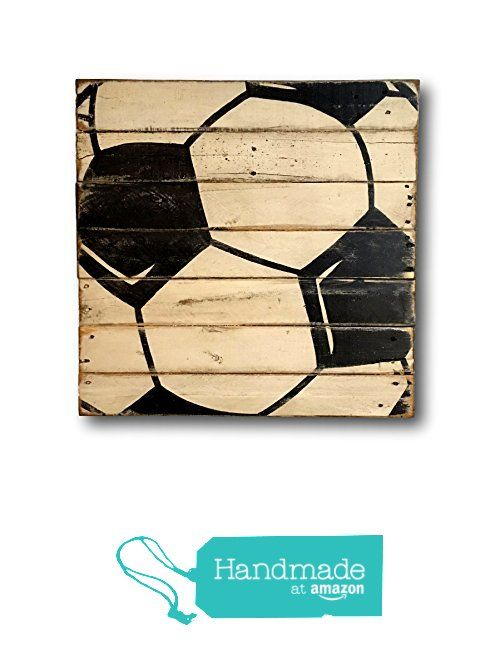 Soccer Sign / Vintage Wood Sports Sign / Boys Bedroom Decor / Vintage Soccer Decor from Pallets and Paint http://www.amazon.com/dp/B01EVLUSLE/ref=hnd_sw_r_pi_dp_xW6ixb0473BXZ #handmadeatamazon