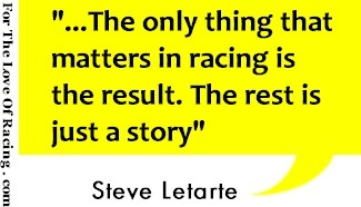 NASCAR quotes from drivers & personalities. Steve Letarte quote