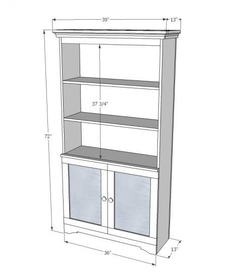 I want to make this!  DIY Furniture Plan from Ana-White.com  Build this armoire with open storage and concealed storage behind magnetic metal doors. Industrial chic with just a touch of metal, this cute kids room DIY project contains free step by step furniture plans to build!