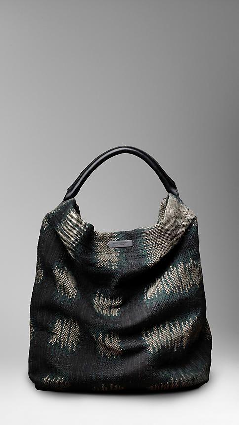 BURBERRY  Abstract Check Duffel Bag  $1495