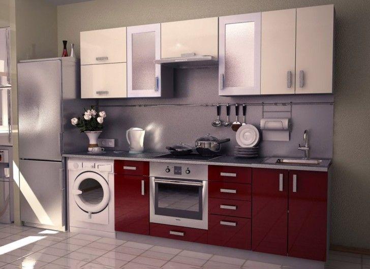 Gentil Inspiring Kitchen Design With Washing Machine Contemporary   Best .