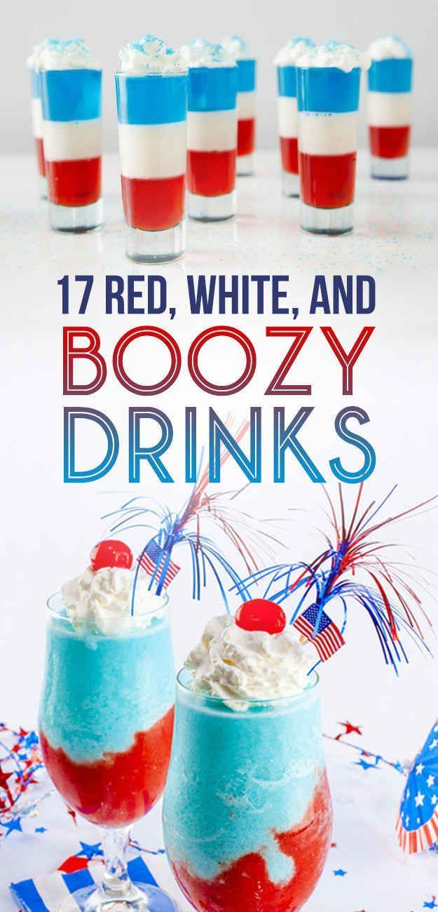 17 Red, White, and Boozy Drinks