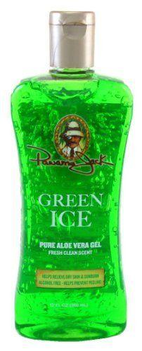 Panama Jack Green Ice 12 oz. Pure Aloe Vera Gel (3-Pack) with Free Nail File by Panama Jack. $16.49