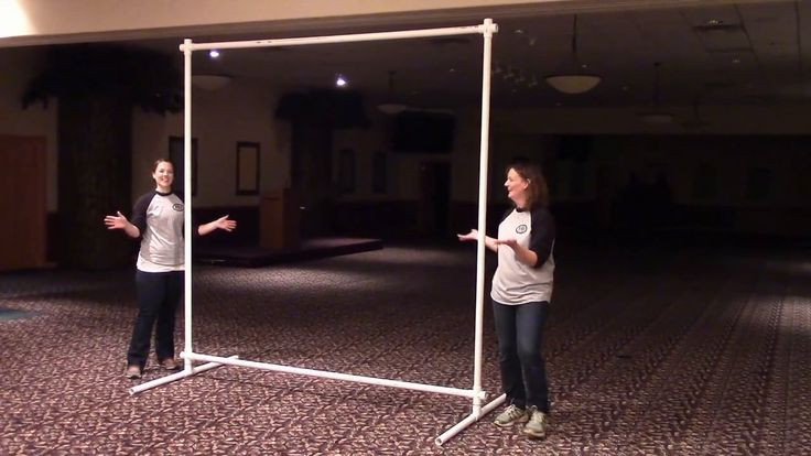 Learn how to build the perfect lightweight frame for your VBS backdrop using common PVC pipe.