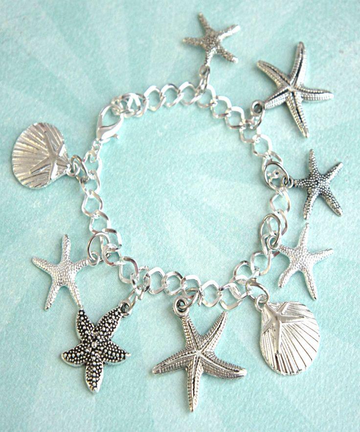 seashells charm bracelet