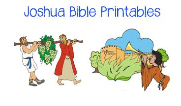 Joshua Bible Crafts: Minibook, Scripture Copywork more...