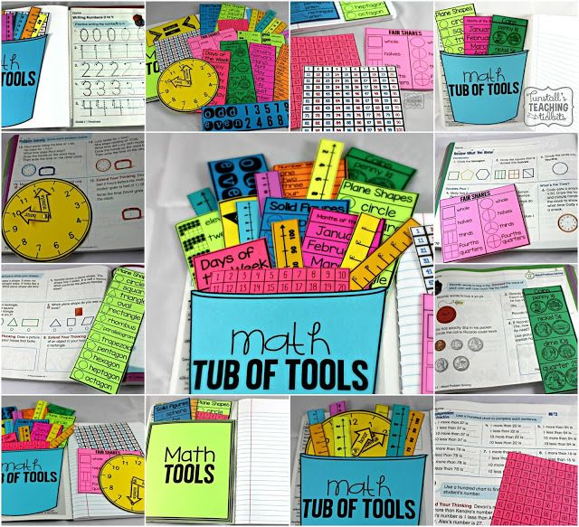 Study Teaching: Math Tools For Reference! (Tunstall's Teaching Tidbits