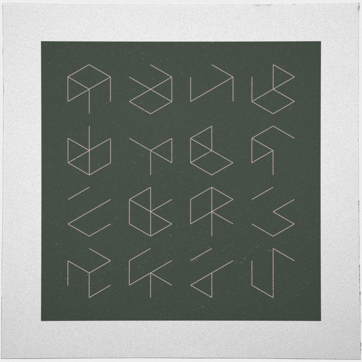 #38 Phantom cubes – A new minimal geometric composition each day