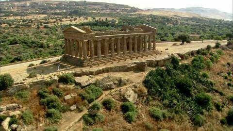 Tempio dell'Omonoia (Concordia) - Agrigento, Sicilia Ναός της Ομόνοιας (Κονκόρντια) - Ακράγας, Σικελία Temple of Omonoia (Concord) - Agrigento, Sicily  amm. [M.D.]