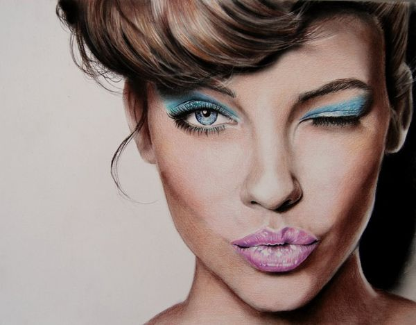 Colour Pencil Drawings by Valentina Zou