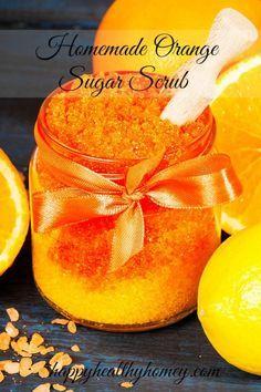 Easy Homemade Sugar Scrub Recipe
