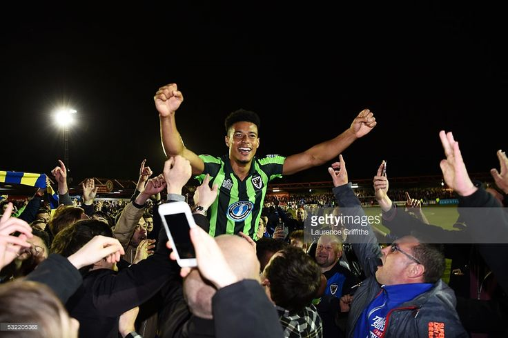 AFC Wimbledon: A Story of Hope By Sparky Shelton - May 20, 2016026