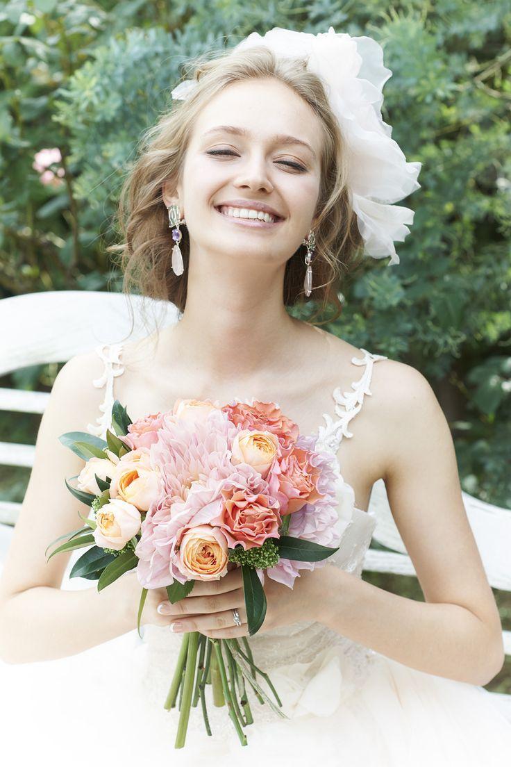 #NOVARESE #wedding #accessory #pink #flower #headaccessory #styling #hair #ノバレーゼ #ウエディング #ウエディングドレス #アクセサリー #ピンク #スタイリング #髪型 #ヘアスタイリング #ノバレーゼ