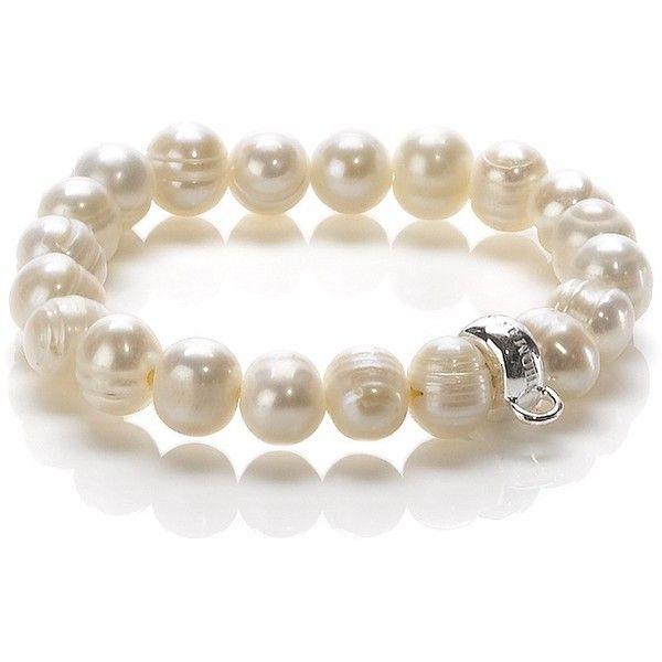 Thomas Sabo Stone Bracelet ($48) ❤ liked on Polyvore