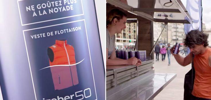 Tribord crée la pire boisson du monde qui a la saveur de l'eau de mer