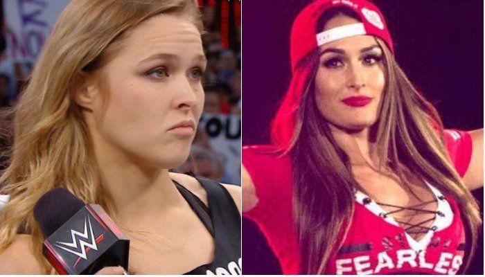 Nikki Bella wants to fight Ronda Rousey