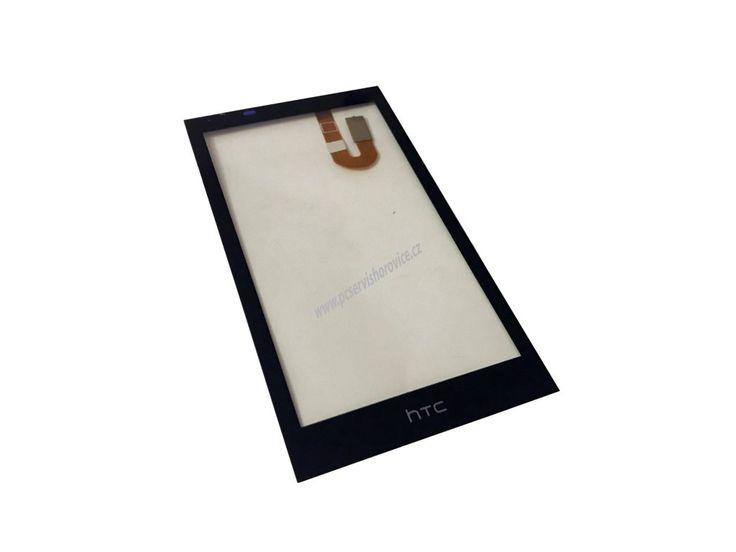 Náhradní sklo displeje (dotykové sklo) pro HTC Desire 610. Můžete využít služeb našeho servisu, kde Vám sklo vyměníme.
