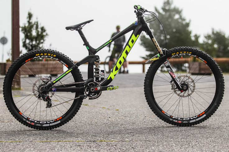 Andrew Crimmins' Kona Operator 27.5 World Champs Bike - PIT BITS - 2015 WORLD CHAMPS - Mountain Biking Pictures