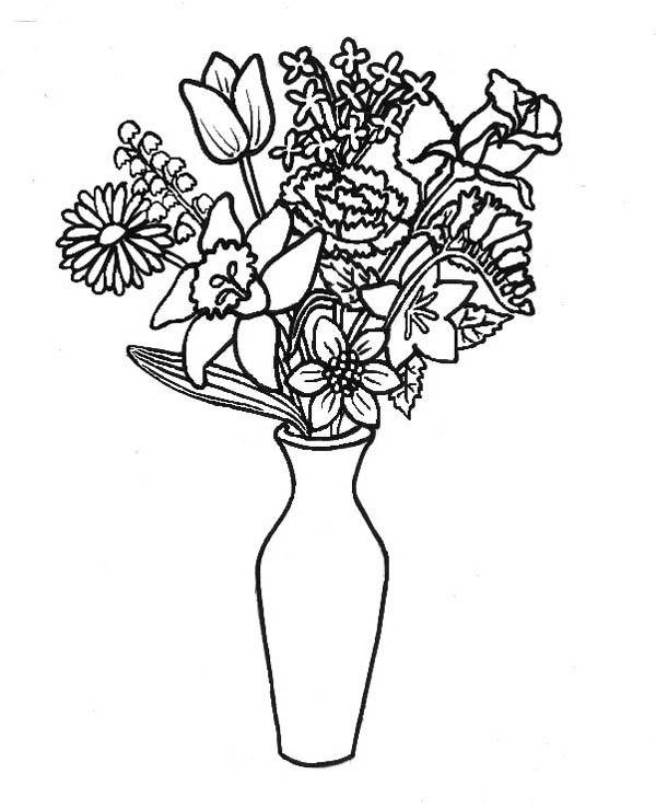 Floreros 23 Dibujos Faciles Para Dibujar Para Ninos Colorear