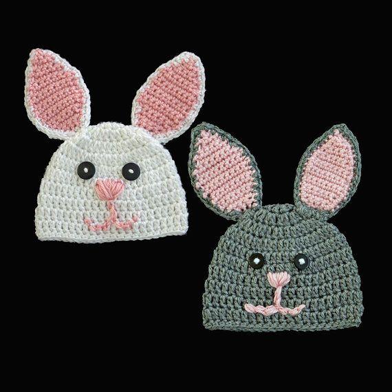 With Easter coming this hat is sure to make any baby the talk of the town (and keep their little heads warm too!)  This Bunny hat is sure to be a