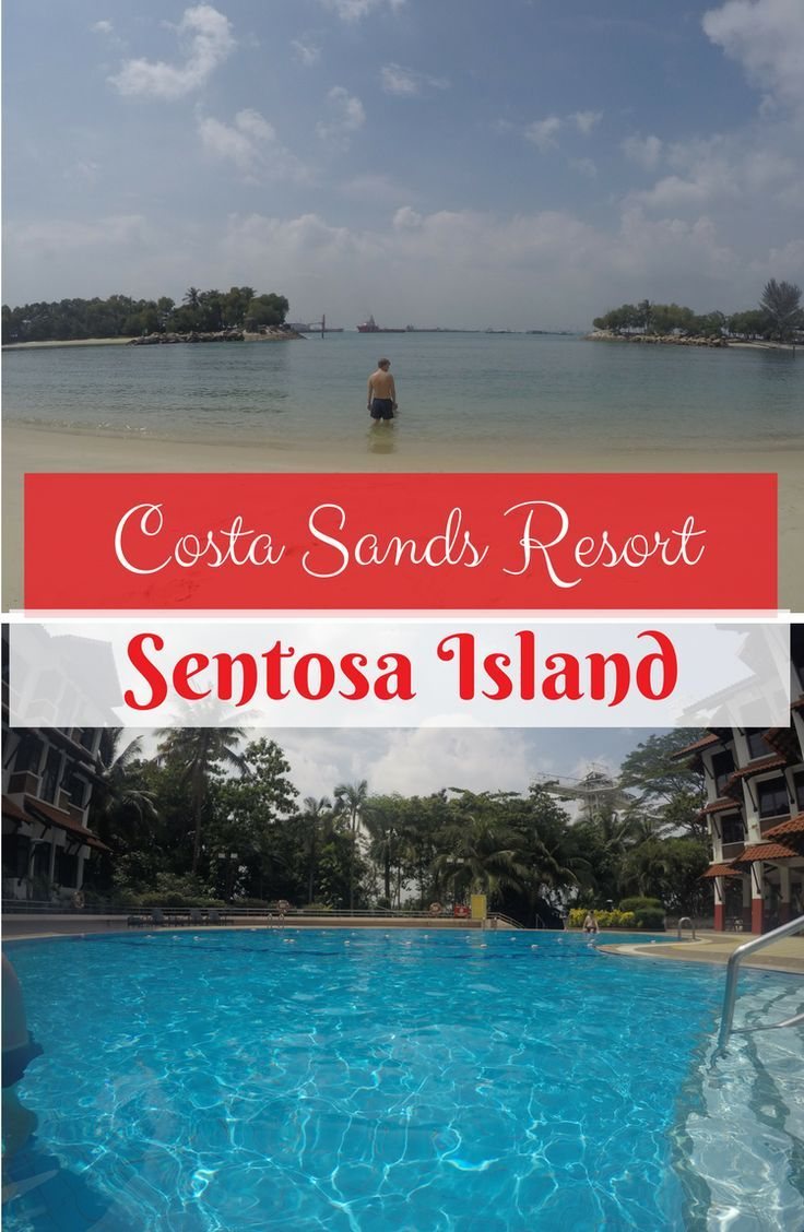 Spending the morning at Costa Sands Resort on Sentosa Island and checking out the beach nearby | Singapore | kids world travel guide | travel with kids | travel with a toddler | family travel | Sentosa beach | Sentosa Hotels | Sentosa beach huts