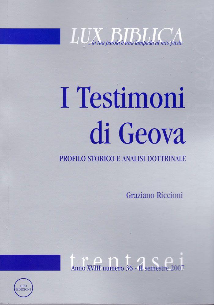 La lettura di questo libro di Graziano Riccioni farà comprendere l'urgenza di ricevere luce dalla Parola di Dio, per saper denunciare le opere delle tenebre ma soprattutto per ricevere  'la sapienza...