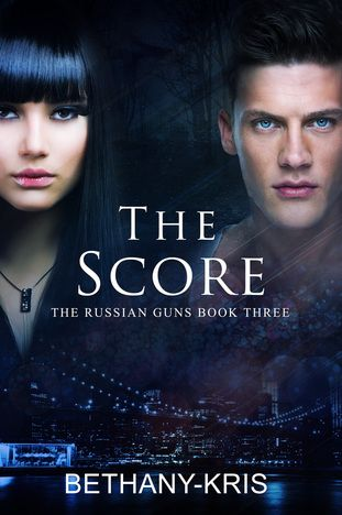 The Score, The Russian Guns Book Three - Cover by Jay Aheer