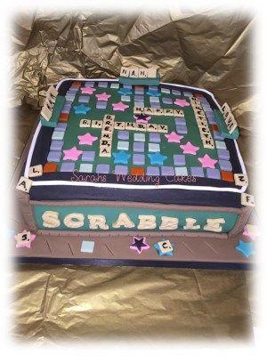 Scrabble board for a scrabble lover