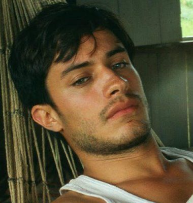 Another shot of Gael Garcia Bernal, the placeholder for the hero in this book.