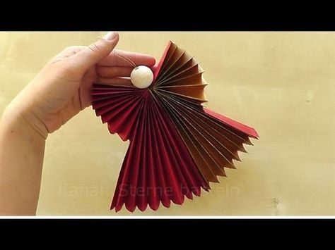 How to Make a Paper Doily Angel Using Aleene's Original Tacky Glue (Long Version) - YouTube