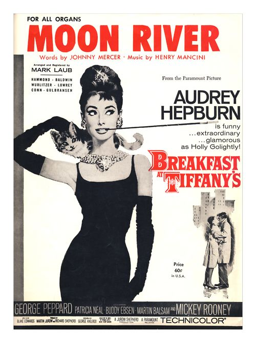 Moon River sheet music. I have this!