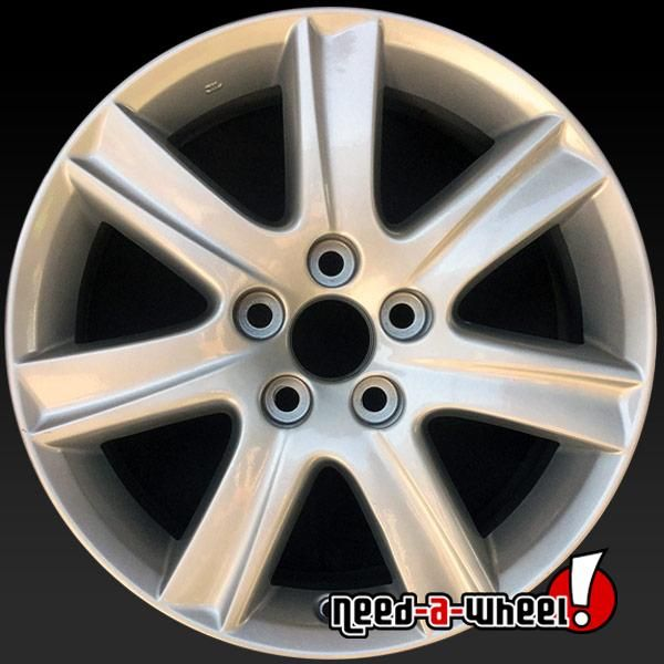 2007 2009 Lexus Es350 Oem Wheels For Sale 17 Silver Stock Rims 74190 Wheels For Sale Oem Wheels Wheel Rims
