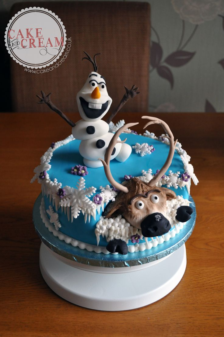 The 19 best images about Frozen on Pinterest Fondant olaf