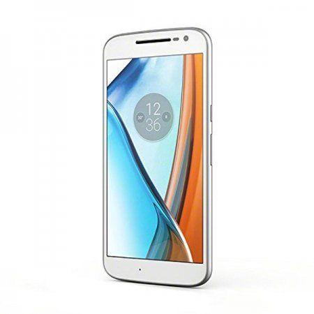 El nuevo #Motorola Moto G4, disponible en blanco y negro. El nuevo #smartphone de 5.5 pulgadas cuenta con un #procesador de 8 núcleos con el que podrás disfrutar de toda la potencia que te ofrece los #terminales de última #generación. Con su #cámara de 13Mpx no podrás resistirte a sacar fotos de alta calidad. Es dual #SIM por lo que tendrás la posibilidad de meter un segundo número bien de trabajo o si viajas mucho, un número de otro país sin perder el principal -  Motorola Moto G4