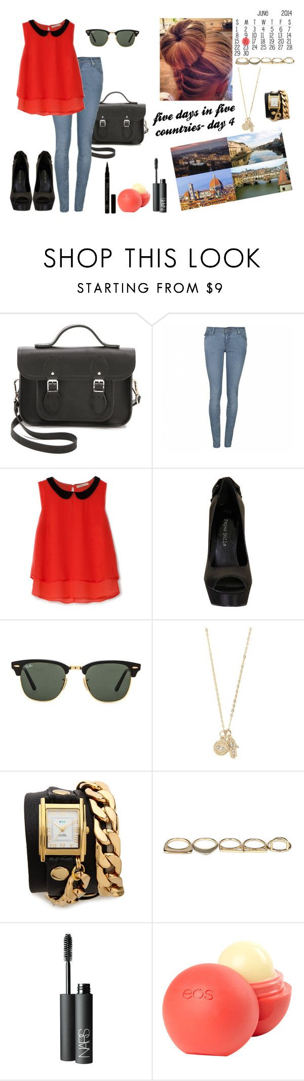 travel in Italy - #4 by simaoana on Polyvore featuring beauty, NARS Cosmetics, dELiA*s, Ray-Ban, With Love From CA, La Mer, Sole Society, The Cambridge Satchel Company, Bershka and Ally Fashion