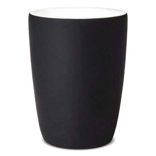 The perfect accent that'll bring a dash of quiet elegance to your home, this lovely Bathroom Tumbler Black is the first little step towards realizing the bathroom of your dreams. Coated in a smooth, black matte finish, these fine ceramic tumblers are the very essence of opulence. And with plenty of other bathroom accessories to choose from like lotion dispensers, tumblers, soap dishes, tissue holders, wastebaskets, trays, and cotton jars, there's just no limit to the charming bathroom...