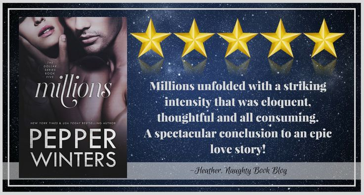 Blog Tour With Review: Millions by Pepper Winters – Naughty Book Blog