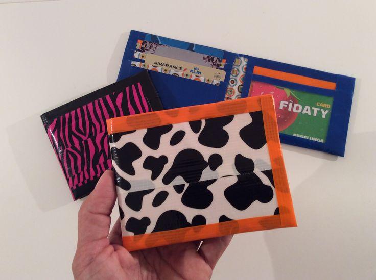 Duct Tape Nederlands: portemonnee