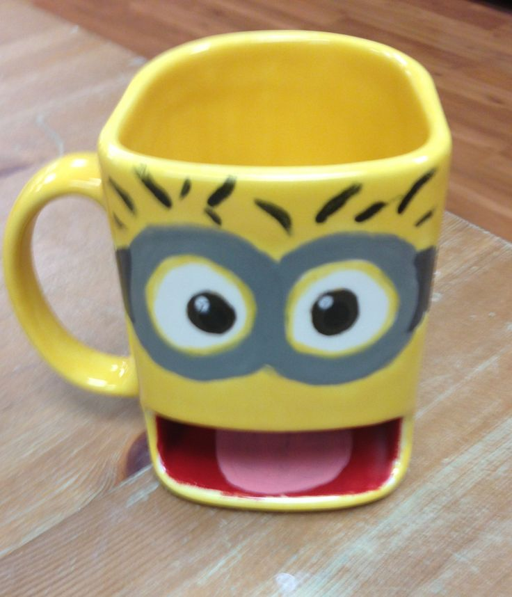 Love The Minion Dunk Mug Made In Our Studio Pinterest