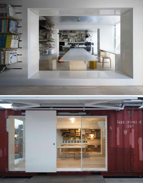 Inside a shipping container home shipping container homes pinterest - Inside shipping container homes ...