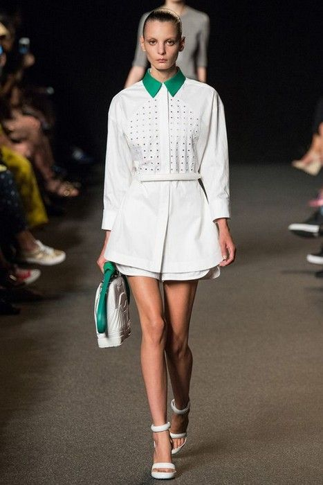 20 Looks with Fashion Desinger Alexander Wang glamhere.com Alexander Wang Spring 2015