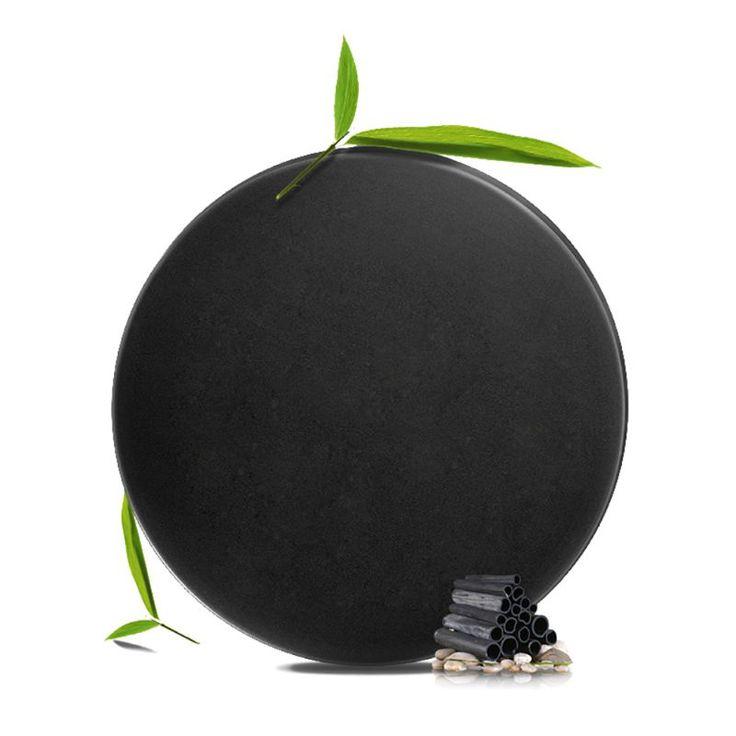 Hitam Buatan Tangan Bambu Arang Minyak kontrol Blackhead Kecantikan Sehat Perawatan Sabun