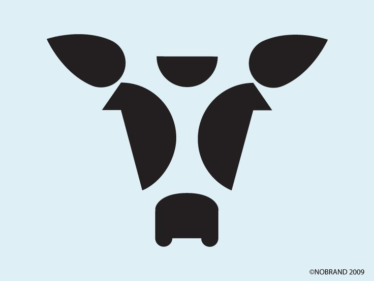 COW. Nobrand. Argentine icons by Hernan Berdichevsky. #design #icon