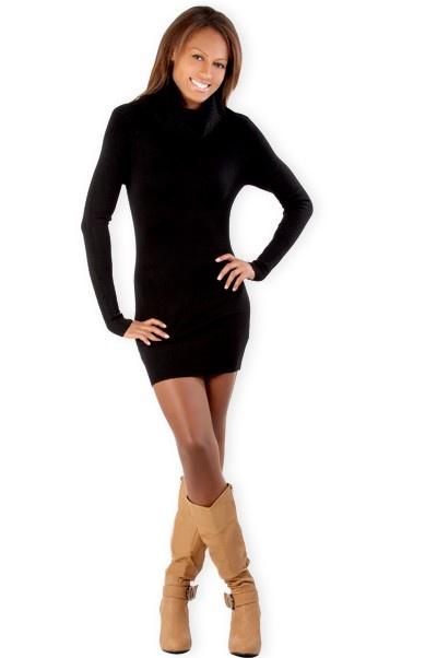 Abbigliamento da donna  http://www.abbigliamentodadonna.it/abito-collo-alto-p-606.html Cod.Art.000713 - Abito a collo alto a manica lunga elasticizzato per una donna fashion sempre alla moda. Realizzato in misto lana, realmente morbidissimo, al tatto sembra cachemire.