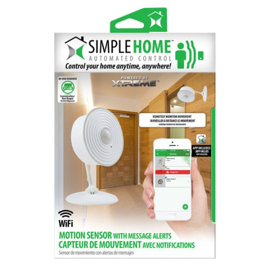 Today Deals 20% OFF Simple Home Wi-Fi Motion Sensor w/Message Alerts | Amazon:   Today Deals 20% OFF Simple Home Wi-Fi Motion Sensor w/Message Alerts | Amazon #TodayDeals #DailyDeals #DealoftheDay - Remotely monitor movement inside your home. Uses passive infrared sensors (PIR) to detect motion up to 15 feet away. Alerts you when motion is detected with push notifications. Can trigger other Simple Home products to turn on when motion is detected. Read customer reviews and find great deals on…