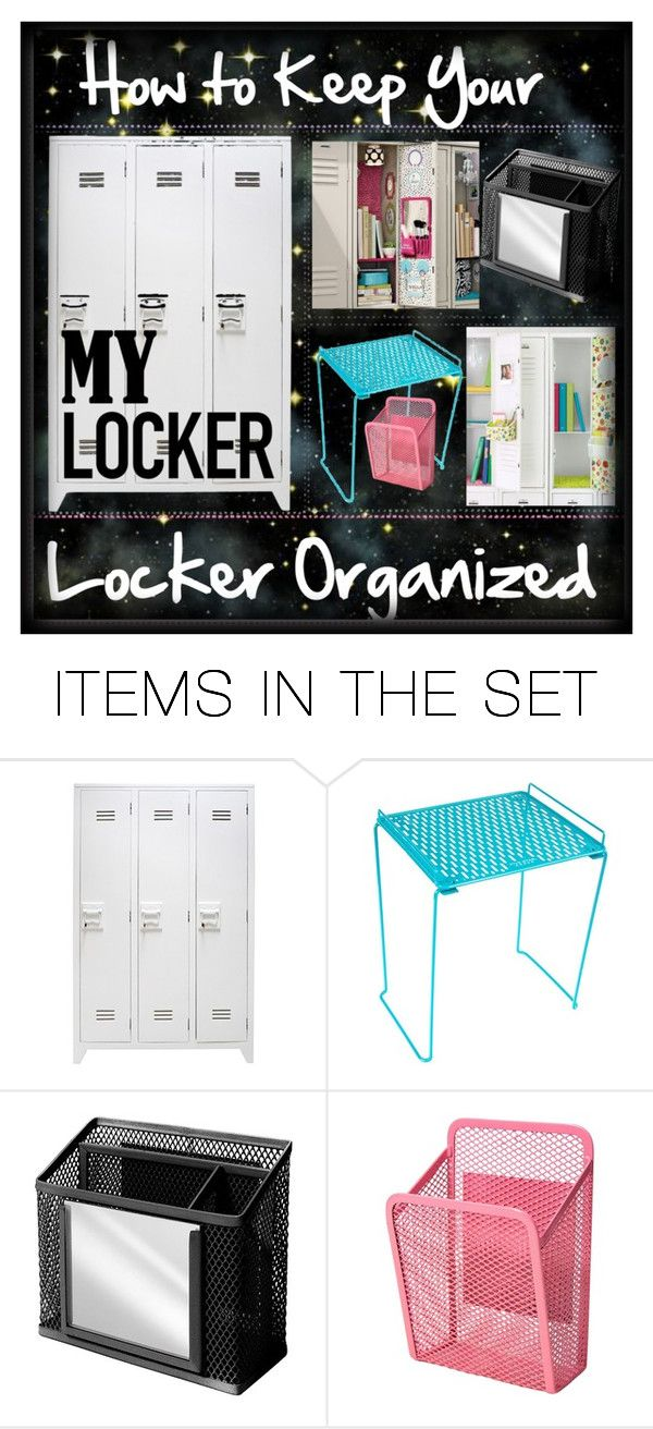 """How to Keep your Locker Organized Tip"" by dinostyler ❤ liked on Polyvore featuring art and Cassie700followersROUND2"