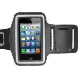 Sport Gym Jogging Exercise Cycling Armband Waterproof Neoprene Velcro Fastening Strap Pouch Cover For Apple iPhone 4/4s 3G/3GS iPod Touch 4th Gen Samsung Galaxy Ace 2 i8160 (Black)  - http://trolleytrends.com/health-fitness/sport-gym-jogging-exercise-cycling-armband-waterproof-neoprene-velcro-fastening-strap-pouch-cover-for-apple-iphone-44s-3g3gs-ipod-touch-4th-gen-samsung-galaxy-ace-2-i8160-black