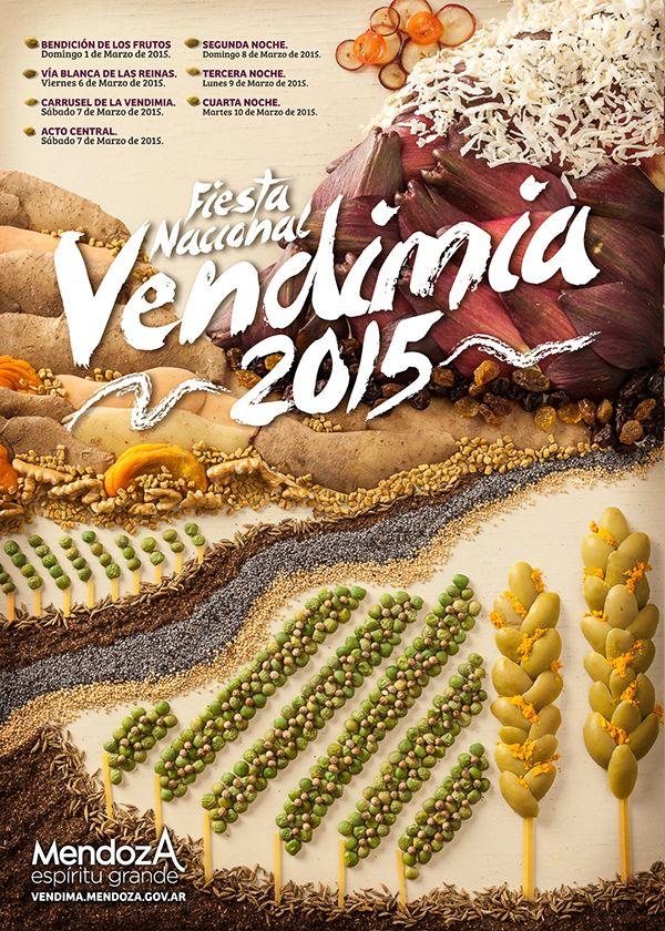 Vendimia Proposal - Food Illustration