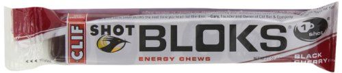 Clif Shot Bloks, Black Cherry, 18 Count - http://www.gainmusclefastnow.com/clif-shot-bloks-black-cherry-18-count/